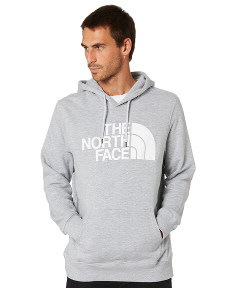 LIGHT GREY HEATHER MENS CLOTHING THE NORTH FACE JUMPERS - NF0A4M4BDYX