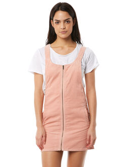 WASHED PEACH WOMENS CLOTHING AFENDS PLAYSUITS + OVERALLS - 51-03-126WPCH