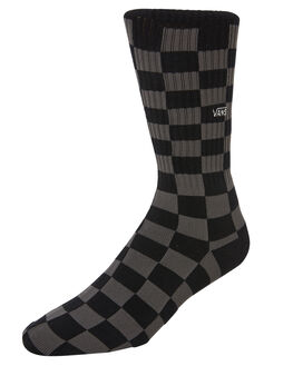 BLACK CHARCOAL MENS CLOTHING VANS SOCKS + UNDERWEAR - VNA3H3OBA5BKCH