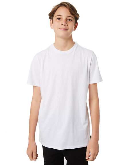 WHITE KIDS BOYS SWELL TEES - S3183004WHITE