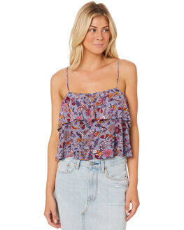 CHAMBRAY WOMENS CLOTHING TIGERLILY FASHION TOPS - T383033CBY
