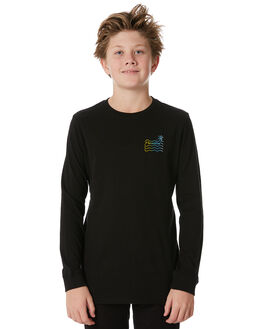 BLACK KIDS BOYS SWELL TEES - S3184103BLACK