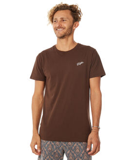 VINTAGE BROWN MENS CLOTHING RHYTHM TEES - APR18M-PT01BRO