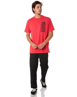 ROSE RED MENS CLOTHING THE NORTH FACE TEES - NF0A3X96D0S