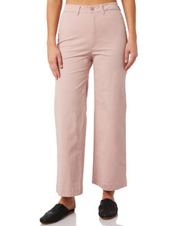 DUSTY PINK WOMENS CLOTHING ROLLAS PANTS - 12834-501