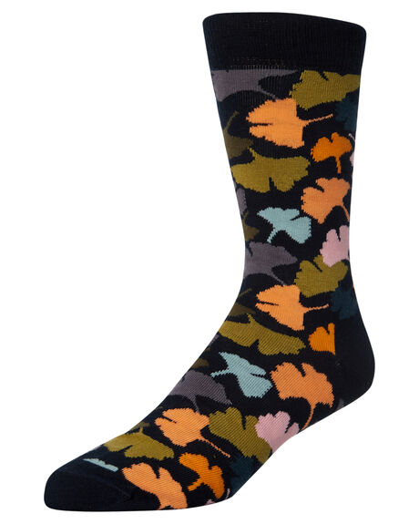 MULTI MENS CLOTHING HAPPY SOCKS SOCKS + UNDERWEAR - GNK01-6000MUL