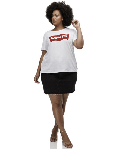 WHITE WOMENS CLOTHING LEVI'S TEES - C35790-0000