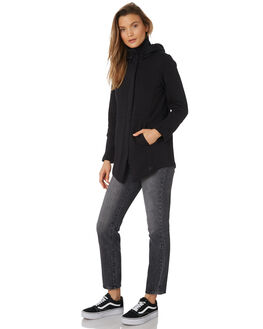 BLACK WOMENS CLOTHING HURLEY JUMPERS - AJ3610010