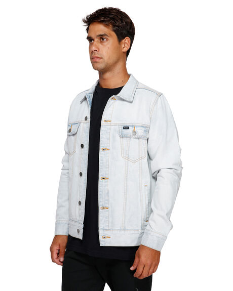 BLEACHOUT MENS CLOTHING RVCA JACKETS - RV-R183446-1BO