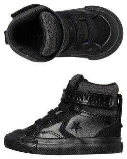 BLACK BLACK KIDS TODDLER BOYS CONVERSE FOOTWEAR - 762818BKBK