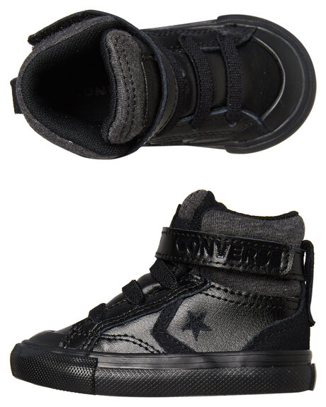 BLACK BLACK KIDS BOYS CONVERSE FOOTWEAR - 762818BKBK