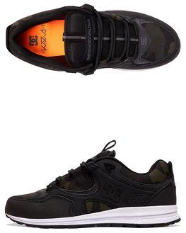 BLACK CAMO MENS FOOTWEAR DC SHOES SNEAKERS - ADYS100382-BLO