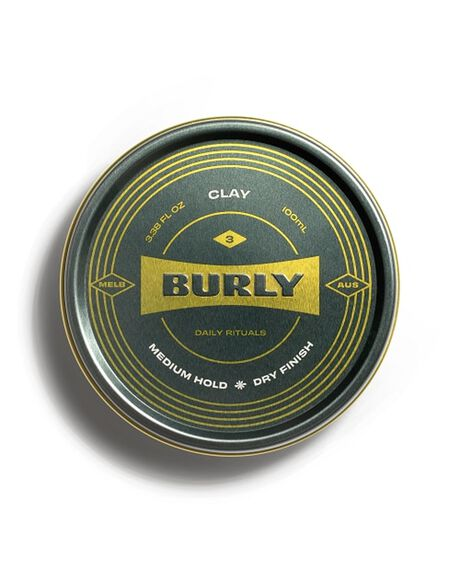NATURAL HOME + BODY BODY BURLY MENS GROOMING - BURLYCLAY