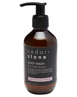 ROSE MARSHMALLOW WOMENS ACCESSORIES CEDAR AND STONE GROOMING - BODYWASH200RSE