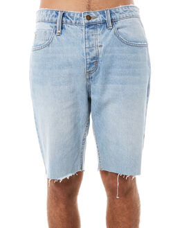 STONED BLUE MENS CLOTHING THRILLS SHORTS - TDP-314SESTBLU