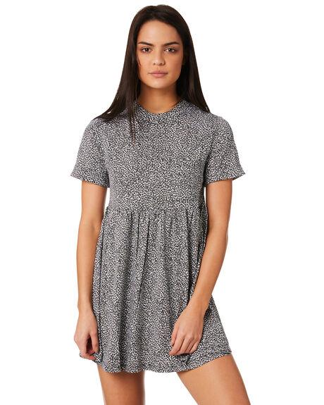 LEOPARD WOMENS CLOTHING VOLCOM DRESSES - B1321811LEO