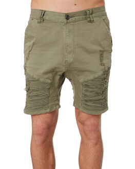 KHAKI MENS CLOTHING NENA AND PASADENA SHORTS - NPMDS002KHAK