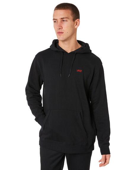 BLACK MENS CLOTHING VANS JUMPERS - VNA371QBLKBLK