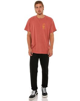HENNA MENS CLOTHING DEUS EX MACHINA TEES - DMA81195HENNA