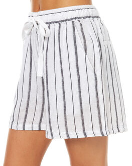 STRIPE WOMENS CLOTHING ASSEMBLY SHORTS - AW-S1728STR