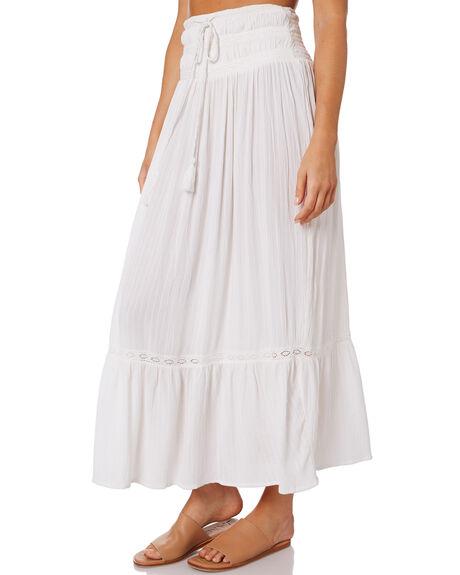 WHITE WOMENS CLOTHING RIP CURL SKIRTS - GSKAP91000