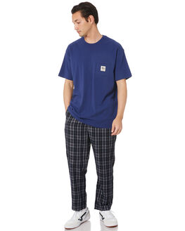 NEW NAVY MENS CLOTHING STUSSY TEES - ST005002NWNVY