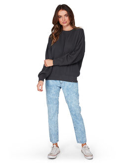 OFF BLACK WOMENS CLOTHING BILLABONG JUMPERS - BB-6507742-OFB