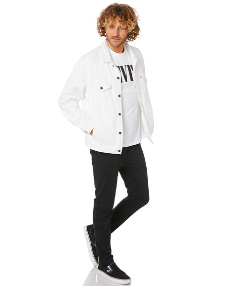 WHITE OUT MENS CLOTHING LEVI'S JACKETS - 77380-0007WHTOT