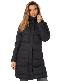 BLACK WOMENS CLOTHING PATAGONIA JACKETS - 28439BLK