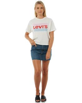 BEETLEBUM WOMENS CLOTHING LEVI'S SKIRTS - 34963-0006BBM