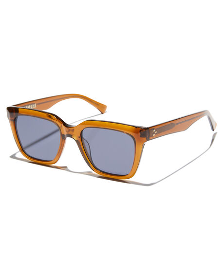 TOBACCO MENS ACCESSORIES EPOKHE SUNGLASSES - 0874-TOBPOBLKTBCO