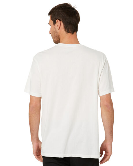 VINTAGE WHITE MENS CLOTHING MITCHELL AND NESS TEES - MNLL0154VNWHT