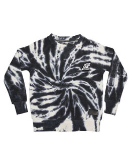 BLACK TYE DYE KIDS TODDLER BOYS MUNSTER KIDS JUMPERS + JACKETS - MK172FL04BLK