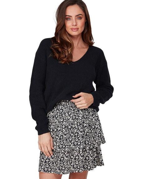 OFF BLACK WOMENS CLOTHING BILLABONG SKIRTS - BB-6507529-OFB
