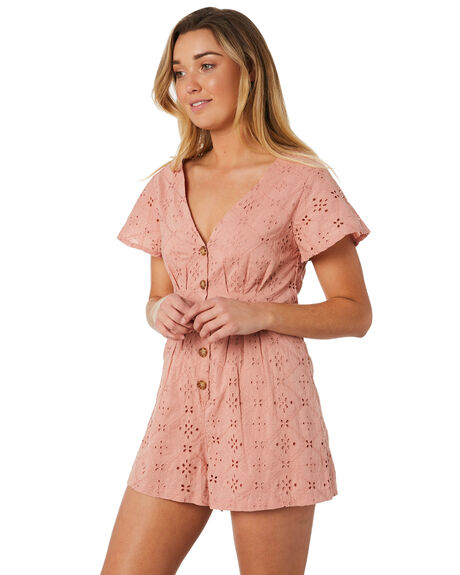 BLUSH OUTLET WOMENS THE HIDDEN WAY PLAYSUITS + OVERALLS - H8184447BLUSH
