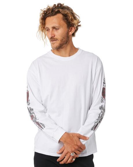 WHITE MENS CLOTHING RUSTY TEES - TTM2024WHT