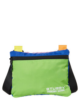 MULTI COLOURED MENS ACCESSORIES STUSSY BAGS + BACKPACKS - ST793016MULTI