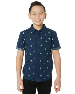NAVY KIDS BOYS RIP CURL TOPS - KSHMJ10049