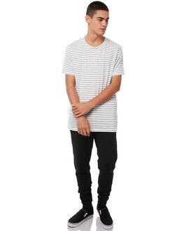 BLACK MENS CLOTHING ACADEMY BRAND PANTS - 18W114BLK