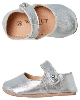 SILVER KIDS GIRLS WALNUT SNEAKERS - MAGGIESILV