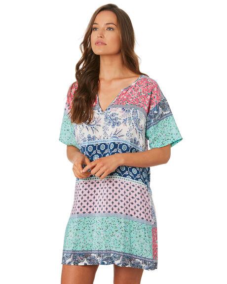 MULTI WOMENS CLOTHING TIGERLILY DRESSES - T392489MUL