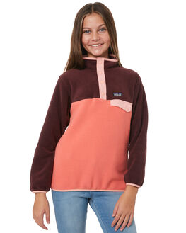 SPICED CORAL KIDS GIRLS PATAGONIA JUMPERS + JACKETS - 65546SPCL