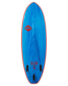 BLUE RED SURF SOFTBOARDS SOFTECH FUNBOARD - FEGII-BUM-050BLURD