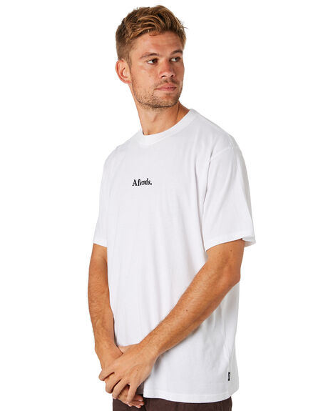 WHITE MENS CLOTHING AFENDS TEES - M184015WHI