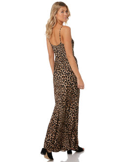 LEOPARD WOMENS CLOTHING TIGERLILY DRESSES - T393444LEO