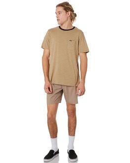 BEIGE MENS CLOTHING VOLCOM SHORTS - A1001901BGE