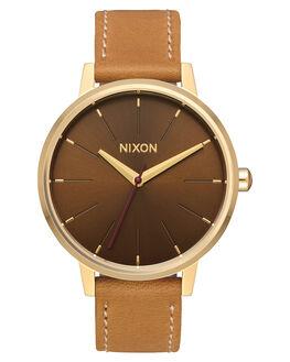GOLD MANUKA SADDLE UNISEX ADULTS NIXON WATCHES - A1082804