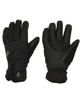 BLACK BOARDSPORTS SNOW POW GLOVES - WGG-A-L-HIP-BKBLK