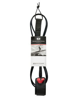 BLACK BOARDSPORTS SURF OCEAN AND EARTH LEASHES - LSB60BLK