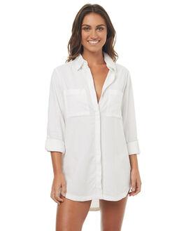 WHITE WOMENS CLOTHING BILLABONG FASHION TOPS - 6572158WHT